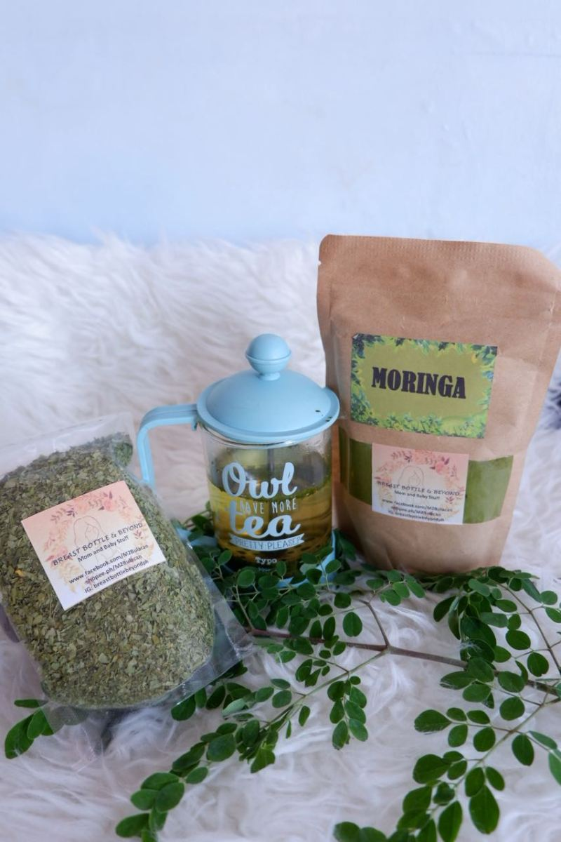 Moringa Powder and Flakes Pack A Punch