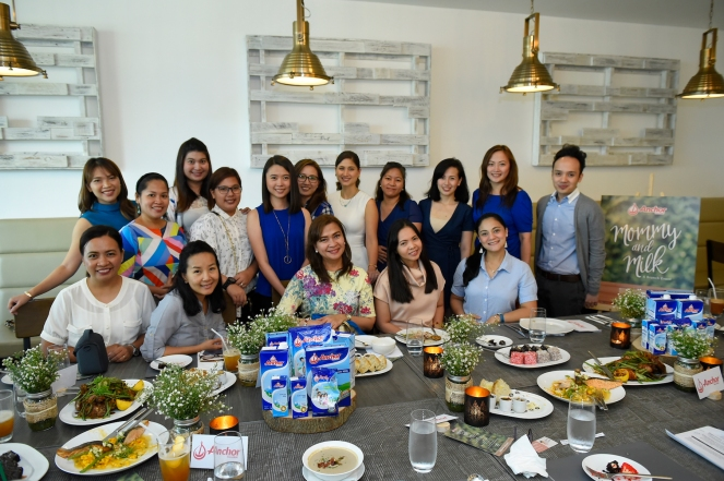 Anchor mommies together with Anchor's brand team for the intimate brunch to discuss nutrients present in Anchor milk (2)