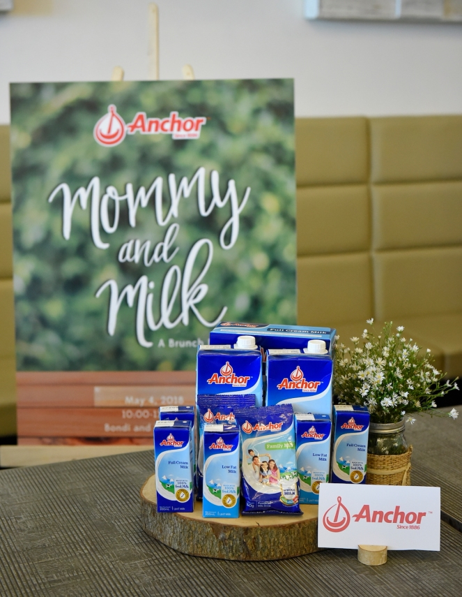 Variety of Anchor milk products including Anchor Full Cream Milk Powder, Anchor Full Cream UHT Milk, Anchor Low Fat UHT Milk, and Anchor Family Mi (2)