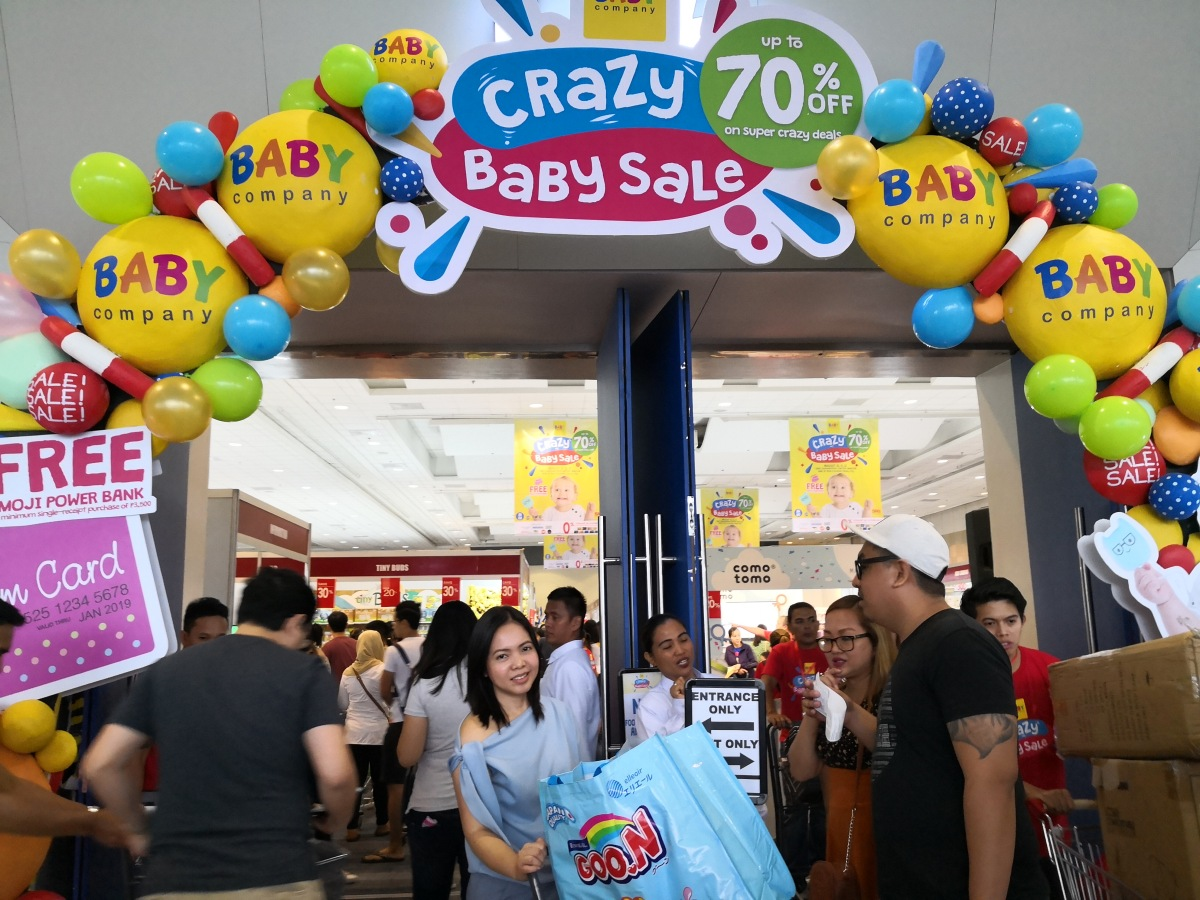 Go Crazy at the Baby Company's Crazy Baby Sale