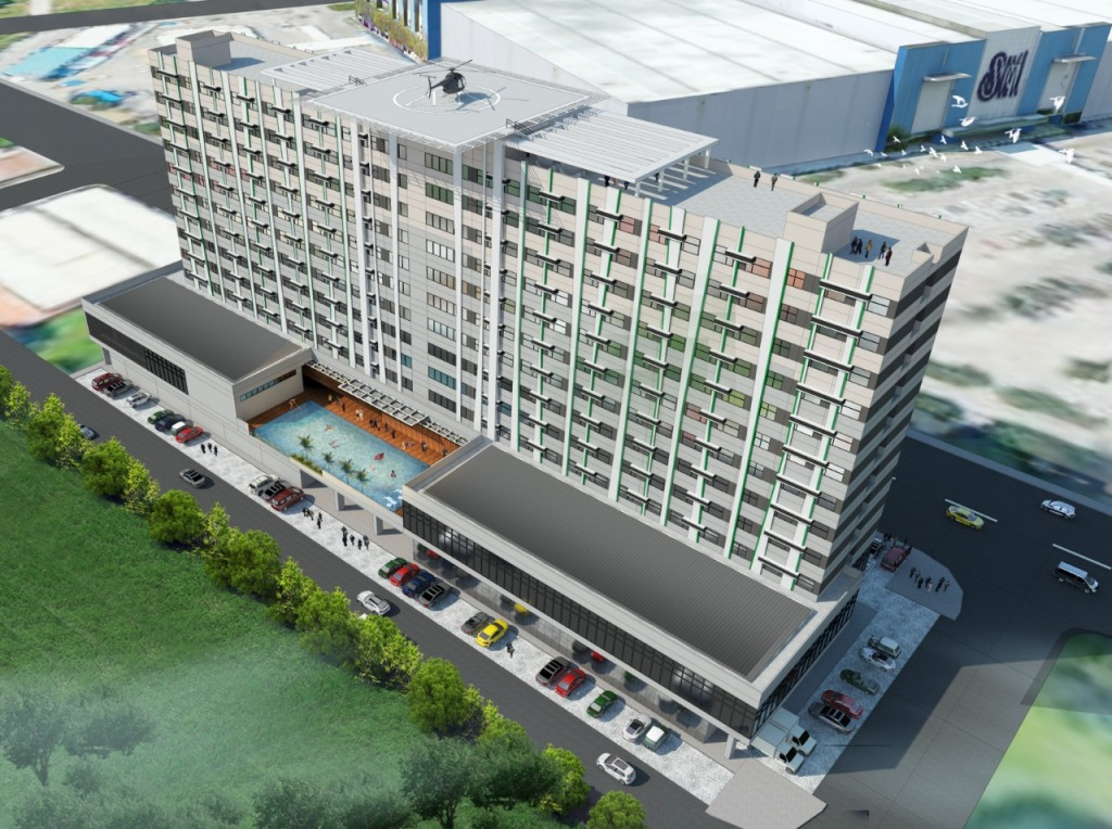 Perspective of Hotel 101 - Davao